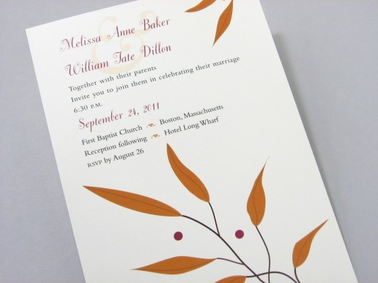 nature wedding collection